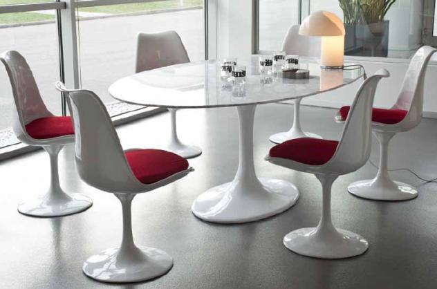 Tavolo Saarinen Misure : Tavolo tulip: come viene costruito un tavolo garantito al 100%