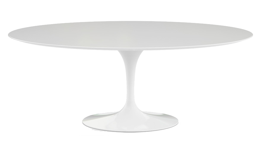 Tavolo Saarinen Misure : Tavolo saarinen ovale: dimensioni