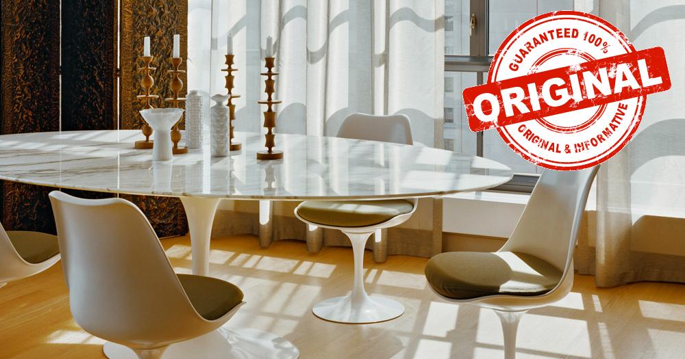 Tavolo Saarinen Originale.Tavolo Tulip Originale